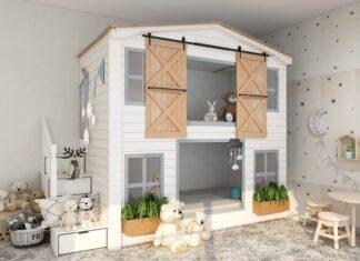 pokój dziecięcy, pokój w stylu skandynawskim, skandynawskie wnętrze, pokój dziecięcy w stylu skandynawskim