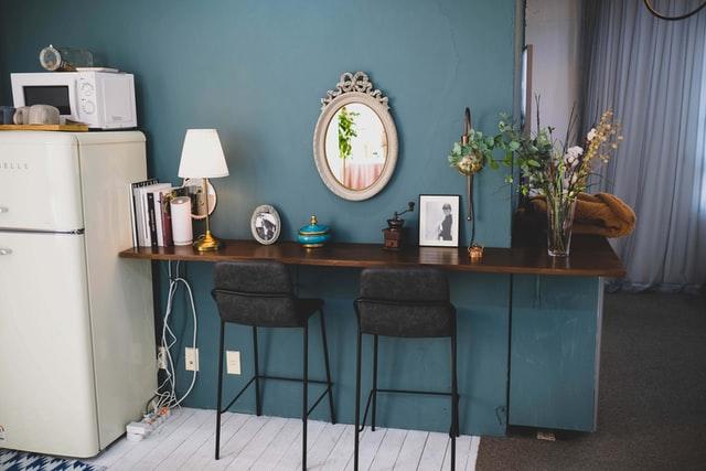 Wnętrze w stylu vintage, vintage, aranżacja wnętrza, salon vintage, wystrój wnętrza, dom vintage