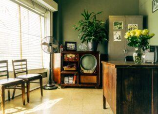 Wnętrze w stylu vintage, vintage, aranżacja wnętrza, salon vintage, wystrój wnętrza