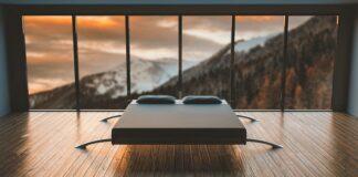 Nowoczesne wnętrze, nowoczesny styl, wystrój wnętrza, projekt wnętrza, sypialnia, minimalistyczny wystrój, minimalistyczna sypialnia